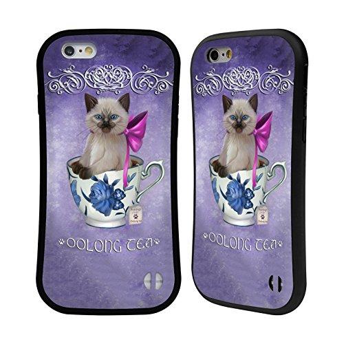 Ufficiale Ash Evans Zucca Speziata Latte Gatti Su Tazze Case Ibrida per Apple iPhone 7 Plus / 8 Plus Té Oolong