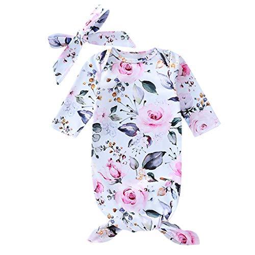 LEXUPE Baby Mädchen Kinder Jacke Trenchcoat Winter Mantel mit Kapuzen Frühling Herbst Windbreaker Mode Oberbekleidung Outerwear (B-Weiß,60)