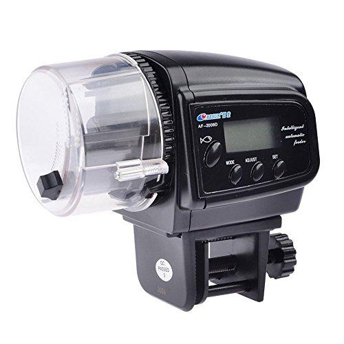 Tery Cute LCD-Display Digital Automatische Oder Manuelle Aquarium Tank Timer Fischfutter Feeder (Digital-feeder-timer Automatischer)