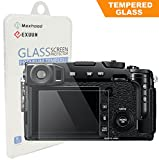 Maxhood Fujifilm X-Pro2 Tempered Glass Screen Protector, Optical 9H Hardness 0.3mm Ultra-Thin DSLR Camera LCD Tempered Glass for Fujifilm X-Pro2 Digital Camera