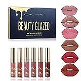 Lippenstift Matt Beauty Glazed 6 Stück Wasserdichte Langlebige Matte...