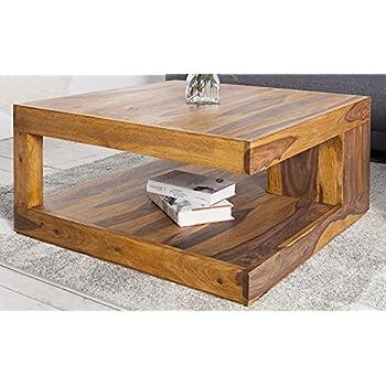 Dunord design couchtisch goa palisander massivholz tisch for Designer couchtisch amazon