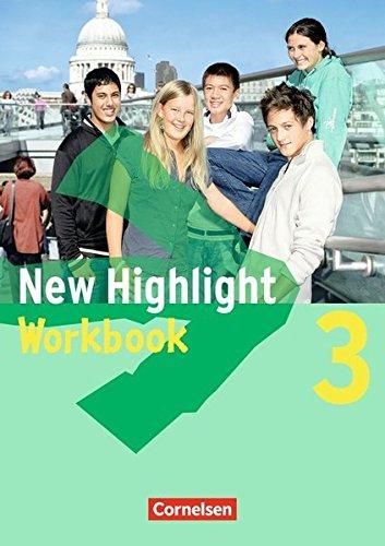 Preisvergleich Produktbild New Highlight - Allgemeine Ausgabe: Band 3: 7. Schuljahr - Workbook