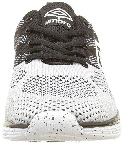 Umbro Um Barwey, Baskets Basses Homme Noir (Noir/Gris 84)