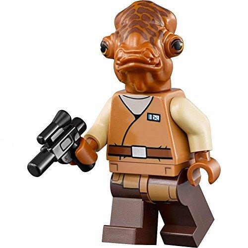 LEGO Star Wars Minifigure - Admiral Ackbar with Blaster (75140)