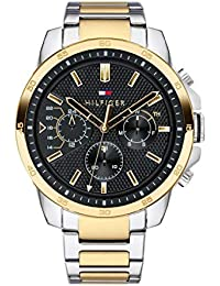 Tommy Hilfiger Analog Black Dial Men's Watch-TH1791559