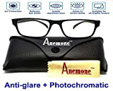 Premium Anti glare lenses for computer screen protection with rectangle frame for Boy's