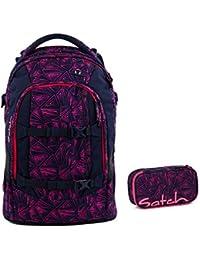 040057cfa810e Satch Schulrucksack-Set 2-tlg Pack Pink Bermuda 9K8 pink bermuda
