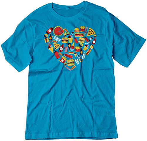 bsw-cuore-da-uomo-fast-food-burger-pizza-fries-shirt-sapphire-x-small