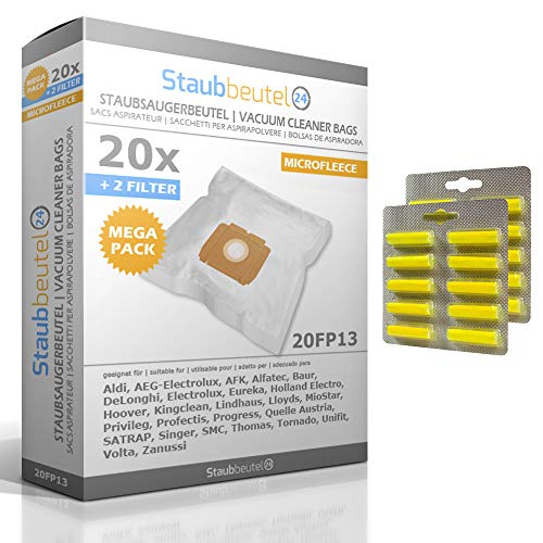 20 Staubsaugerbeutel + 20 Duft Für ELECTROLUX: E 160, E160, Z 2316 Mondo Plus, Z 2304 Mondo Plus, Z 5003 Bolero, E 53, E53, Z 4430, Z4430, Z 2310 Mondo Plus