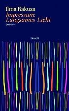 Gebundenes Buch15 Jahre nach ihrem letzten Gedichtband, Love after love, bringt sich Ilma Rakusa wieder als Lyrikerin in Erinnerung. Impressum: Langsames Licht ist ein in mehrere Abteilungen gegliederter Band mit rund 90 kürzeren und längeren, z.T. a...