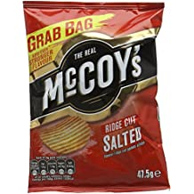 The Real McCoy's Ridge Cut Salted 50g (Pack of 30)