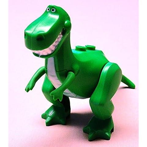 NEW LEEGO Toy Story Rex Minifigure Dinosaur T-Rex Green 7597 7598 by FUCHS GmbH
