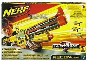 Nerf 21309148 - N-Strike Recon CS-6, Softdart-Blaster mit 6 Pfeilen