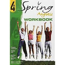 Spring : Anglais, 4e (Cahier d'activités)