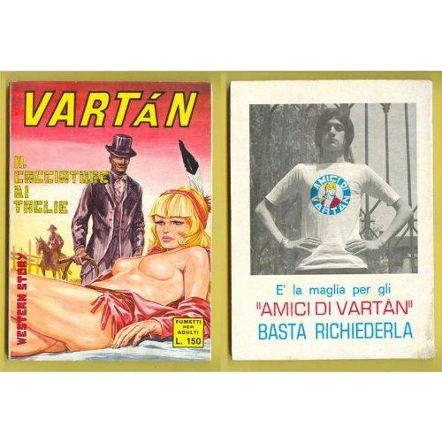 VARTAN n. 19 Il cacciatore di taglie Furio Viano Ed. 1970