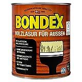 0,75L Bondex Holzlasur für Aussen kalkweiss