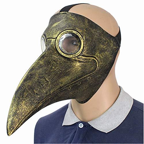 QAQ Gruselige Halloween Monster Cosplay Kostüm Maske Party Dekoration Requisiten Machen Happy Halloween,Brass