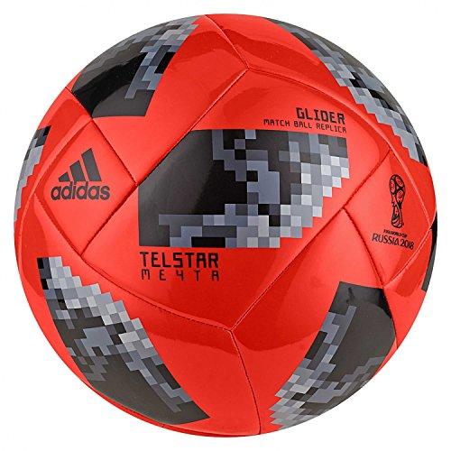 the latest 3e116 1ace8 Adidas Ballon de Football Knockout Glider pour Homme Coupe du Monde FIFA 3  SolredBlack
