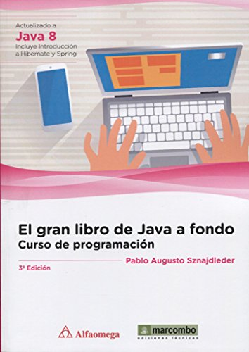 El gran libro de Java a fondo por Luis Angulo Aguirre