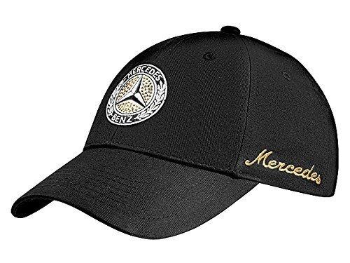 mercedes-benz-cappellino-da-baseball-donna-nero-nero-taglia-unica