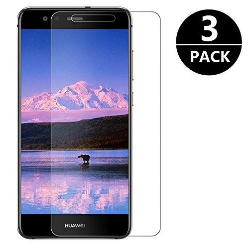 [3 Pack] Huawei P10 Lite Pellicola Protettiva, Zloer Vetro Temperato P10 Lite Pellicola Vetro Temperato, Anti-impronte Anti-graffio Protezioni Schermo in Pellicola Protettiva per Huawei P10 Lite