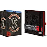 Sons of Anarchy - die komplette TV-Serie - Staffel 1-7 Blu-Ray Complete Box + Premium Notizbuch GESCHENK SET LIMITED EDITION