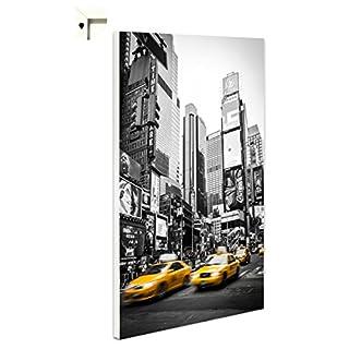 Magnettafel Pinnwand Memoboard Motiv New York Taxi (40 x 60 cm)