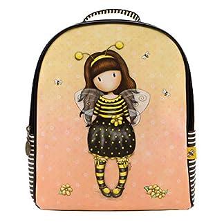 51GISIaRGKL. SS324  - Santoro Gorjuss Mochila Rucksack Backpack - Bee Loved Just Bee Cause