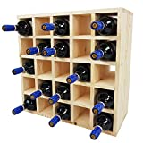SunDeluxe Étagère à Bouteilles de vin Bacchus à Compartiments individuels - Porte...