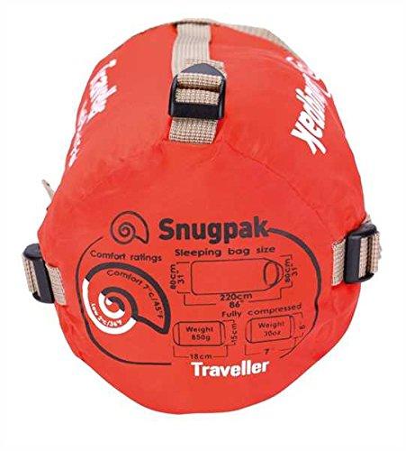 51GISvGwa7L - Snugpak The Sleeping Bag for Elpak Traveller Petrol Blue