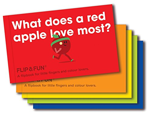 FLIP&FUN: Fruit Boxset: A flipbook for little fingers and colour lovers (Flip & Fun Series)