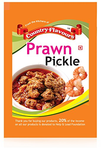 Country Flavours Prawn Pickle (250 Grams)