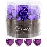 150 lila Schokoladenherzen Kapstadt