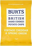 Burts Potato Chips Vintage Cheddar & Spring Onion 40 g (Pack of 20)