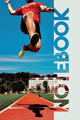 Notebook: Long Jump Practical Composition Book for World Record Training