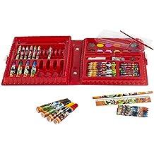 ColorBaby - Maletín con rotuladores, ceras y lápices para pintar, diseño Mickey Mouse (76702)