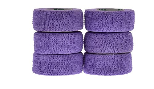 (Andover Flexible Sport Tape Wrap (6 Stück), Flex Tape, lavendel)