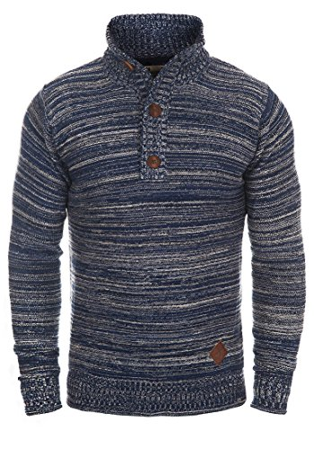 SOLID Madden - Pull en Maille - Homme Insignia Blue