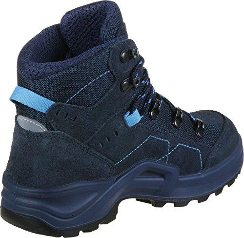 Lowa Kody Iii Gtx Mid Junior, Scarpe da Escursionismo Unisex – Bambini blu turchese