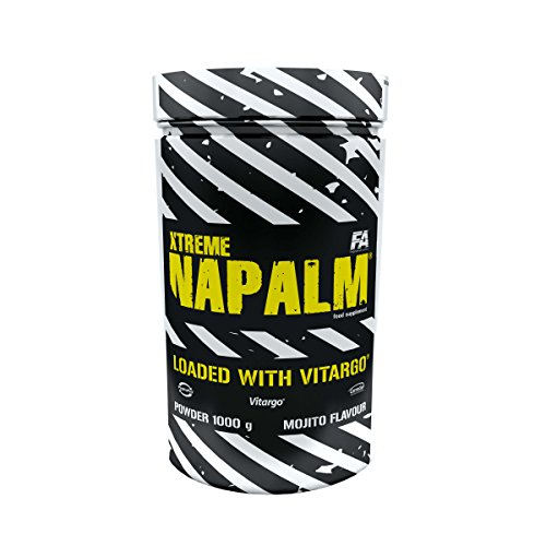 FA Nutrition Xtreme Napalm Loaded with Vitargo - 1kg - Orange - Pre-workout