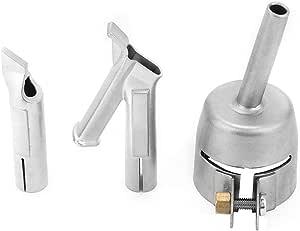 Fiktive PVC-Schwei/ßd/üse 3-teilige Standard-PVC-Vinyl-Schwei/ßspitze Hei/ßluftpistolen-Schwei/ßd/üse Hochleistungs-Schnellschwei/ßd/üse