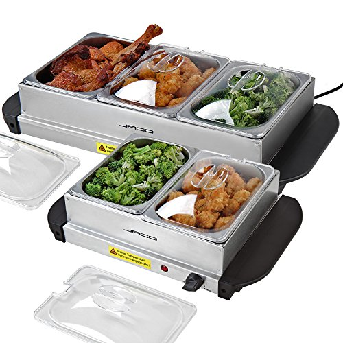 51GIa  LSiL. SS500  - Jago Buffet Food Warmer Hot Plate in Different Sizes and Sets