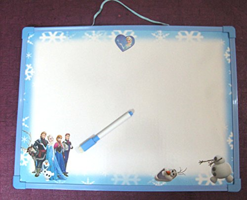 Art box FROZEN WHITE BOARD big size with Marker pen cum duster for kids study..  available at amazon for Rs.319