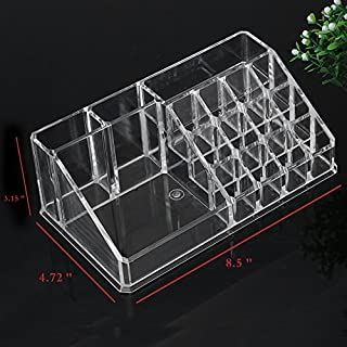 Apgstore Cosmetic Organizer Clear Acrylic Makeup Drawers Holder Case Box Jewelry Storage (Style-2)