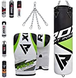 RDX Heavy Boxing 4FT 5FT Punch Bag Filled MMA Punching Bags Training Gloves KickBoxing