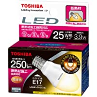 Toshiba E-CORE 3.9W mini krypton bulb form (e-core) LED LDA4L-G-E17