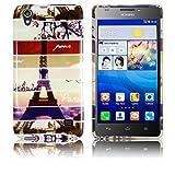 Huawei Ascend G620s Silikon Schutz-Hülle Instagram Paris