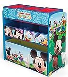 Mickey Mouse Regal Kindermöbel Spielzeugkiste Aufbewahrungskiste Disney 84847MM