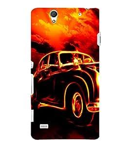 Ebby Premium 3d Desinger Printed Back Case Cover For Sony Xperia C4 (Premium Desinger Case)